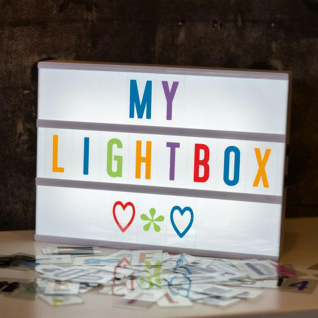 LOCOMOCEAN LIGHTBOX A4   Weiß - Micro USB
