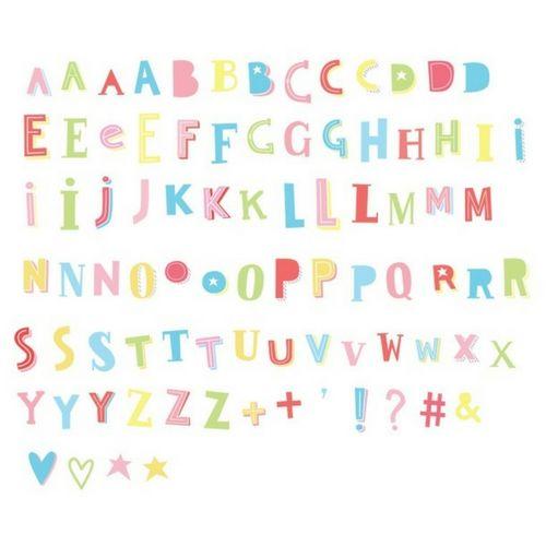 85 Funky Lettres en Couleur pour Lightbox-1