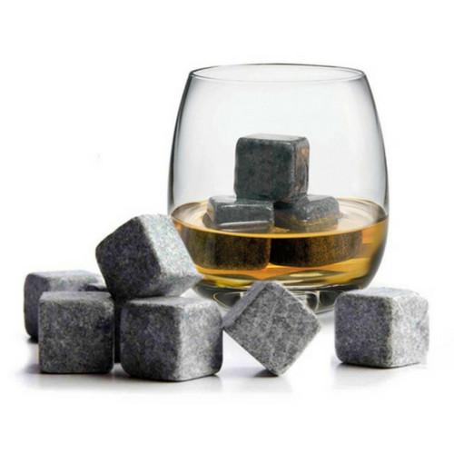 Whisky Stones - Set van 9 Stuks in Marmer-1