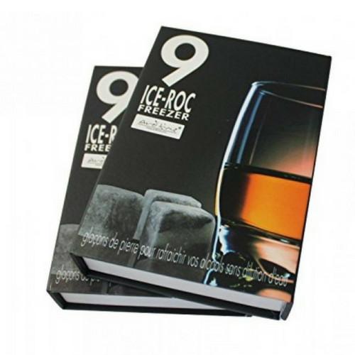 Whisky Stones - Set van 9 Stuks in Marmer-4