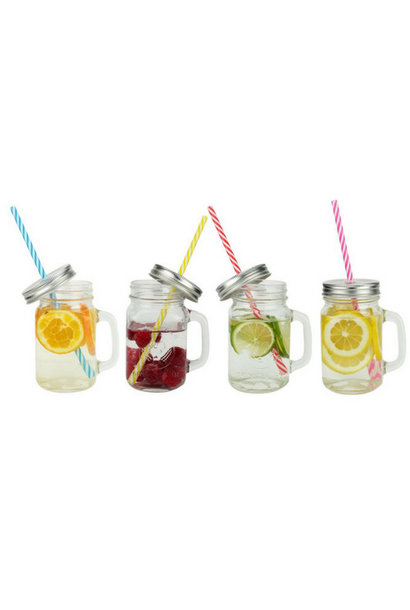 MASON Jar | 6 Drinking Jars