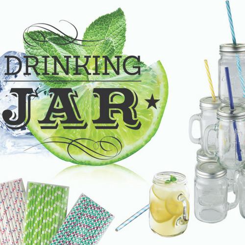 Drinking Jars 450Ml - Set von 6 Stück-3