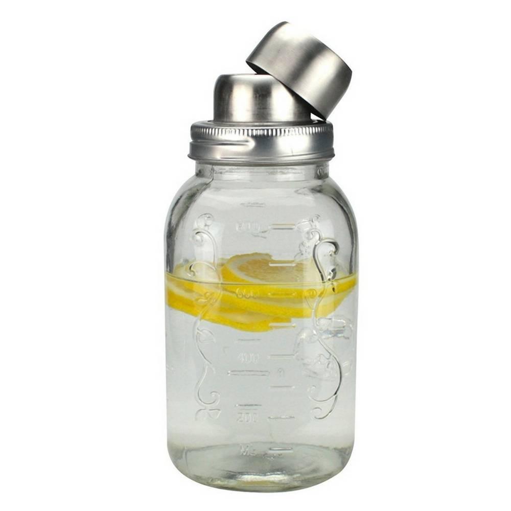 MASON Jar - Cocktail Shaker 800 Ml-1
