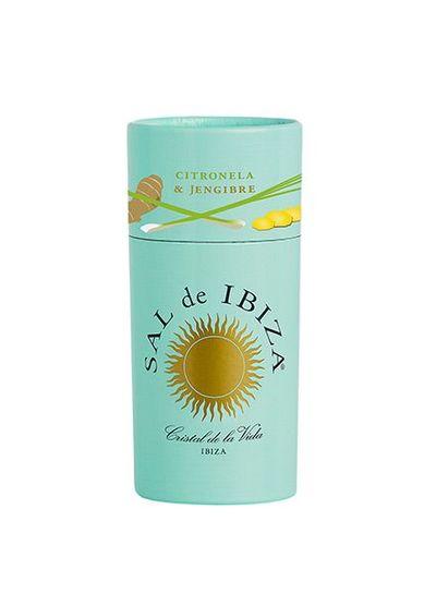 Sal de Ibiza Strooier zeezout met gember en citroengras