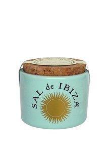 Sal de Ibiza Keramische pot Fleur de Sel klein zonder lepeltje 28,5g