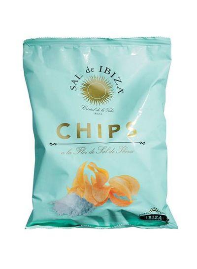 Sal de Ibiza Chips met Fleur de Sel grote zak 125g