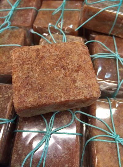 Amber geurblokje