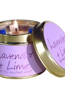 Lily Flame geurkaars Lavender & Lime