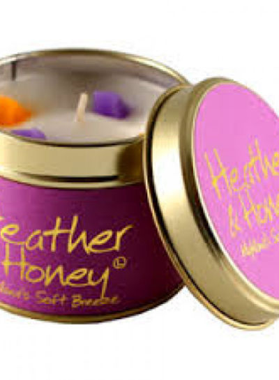 Lily Flame geurkaars Heathered Honey