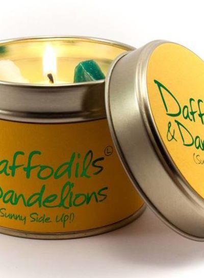 Lily Flame geurkaars Daffodils & Dandelions