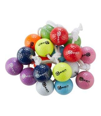 Ubergames Bolas für Leitergolf - 3x2 echte Golfbälle, 100% Original