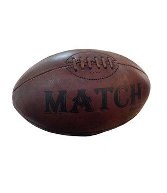RAM Rugby Rugbyball im ursprünglichen Stil, Vintage Style Rugbyball