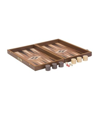 Ubergames Backgammon - Walnuss  Holz