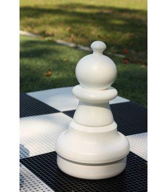 Ubergames XXL Schachfigur, Bauern Weiss oder Schwarz, 42 cm. 2 teilig.