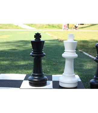 Ubergames XXL Schachfigur, 64 cm - König Weiss oder Schwarz