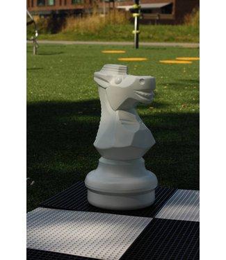 Ubergames XXL Schachfigur, Pferd Weiss oder Schwarz, 45 cm.