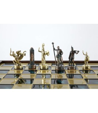 Ubergames Griechisch Poseidon Schachspiel, komplett