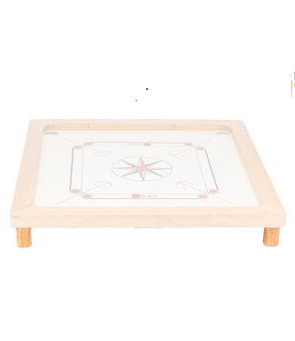 Ubergames Carrom Board Holzbeine - 4 Stück - 5 x 3 cm - um Ihr Board zu vergrößern