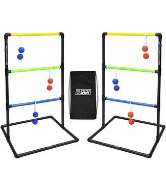 DrSport Doppel Kunststoff Leitergolf spiel - In Trage Tasche tasche - Mit Punktetafel - Stark und Stabil