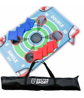 Doctor Sport Cornhole Dart Single Top Spiel - 8 Freizeit Bags - 3-in-1-Spiele - in Tasche