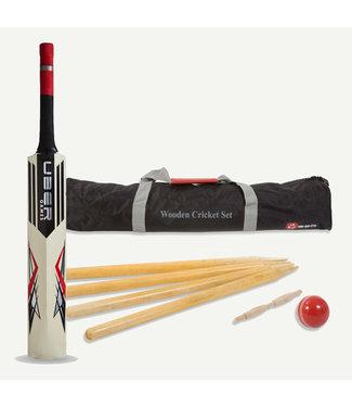 RAM Cricket RAM Hölzernes Cricket Set in praktischer Transporttasche