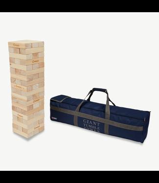 Ubergames XXXL Mega Giga Turmspiel (Pinienholz), bis zu 150cm hoch, ECO-holz, in stabiler Transporttasche