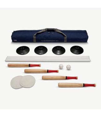 Ubergames Club Rounders/ Schlagball Set- für ein ganzes Team, in praktischer Transporttasche