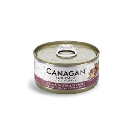 CANAGAN Tuna with Salmon 12x75gram