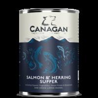 CANAGAN Schotse zalm 12x395gram