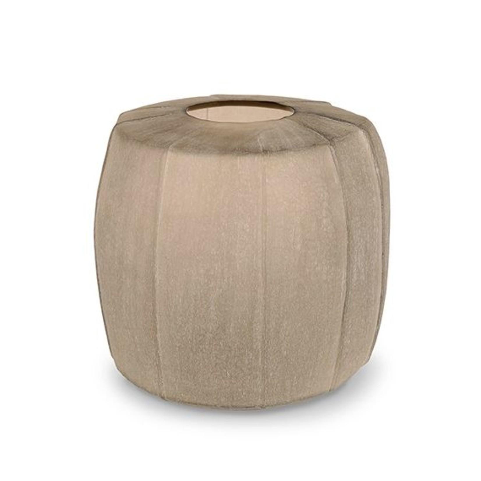 Guaxs Vase Tamatav Round | Smokegrey