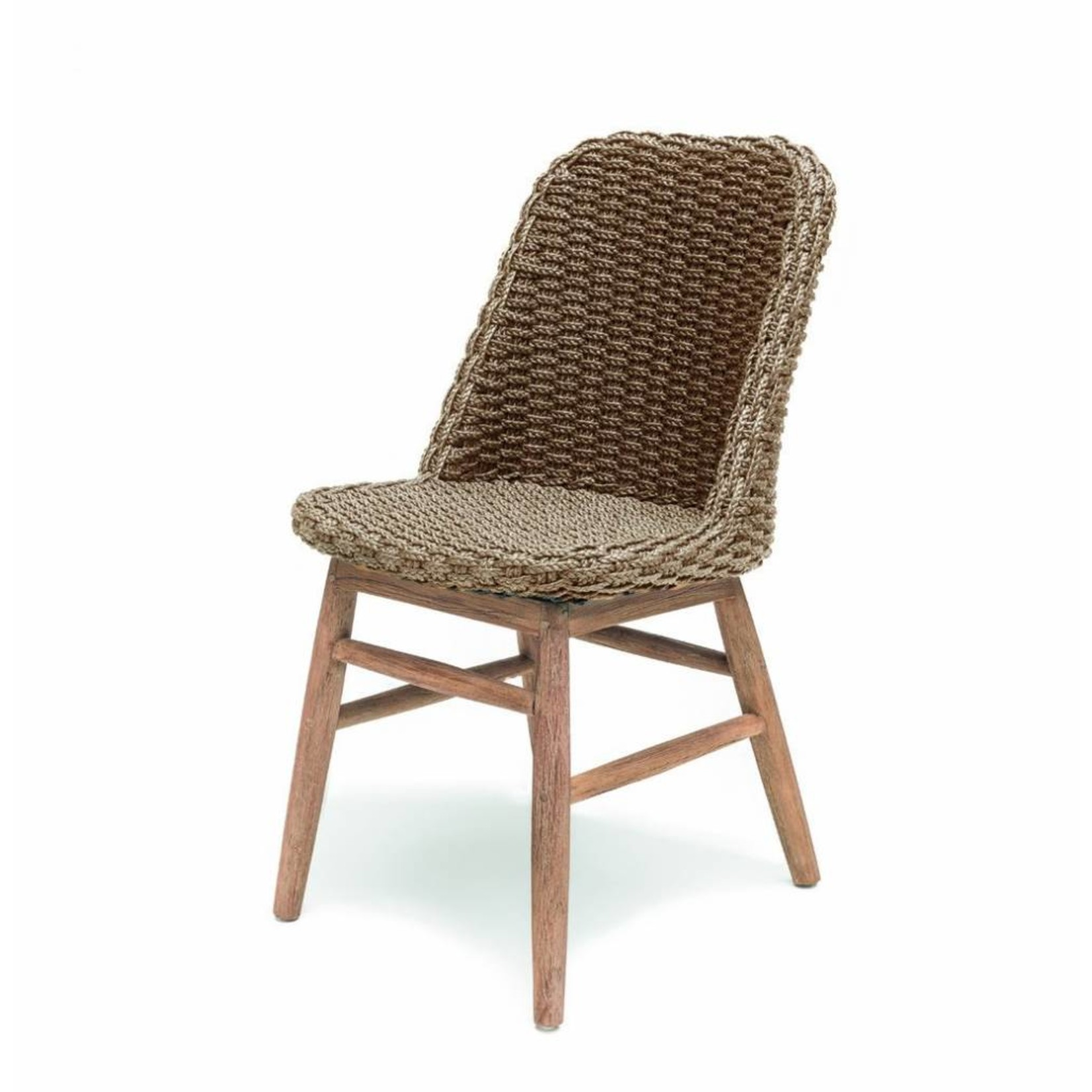 Gommaire Chair Sienna | Reclaimed Teak Natural Gray / PE Wicker Natural