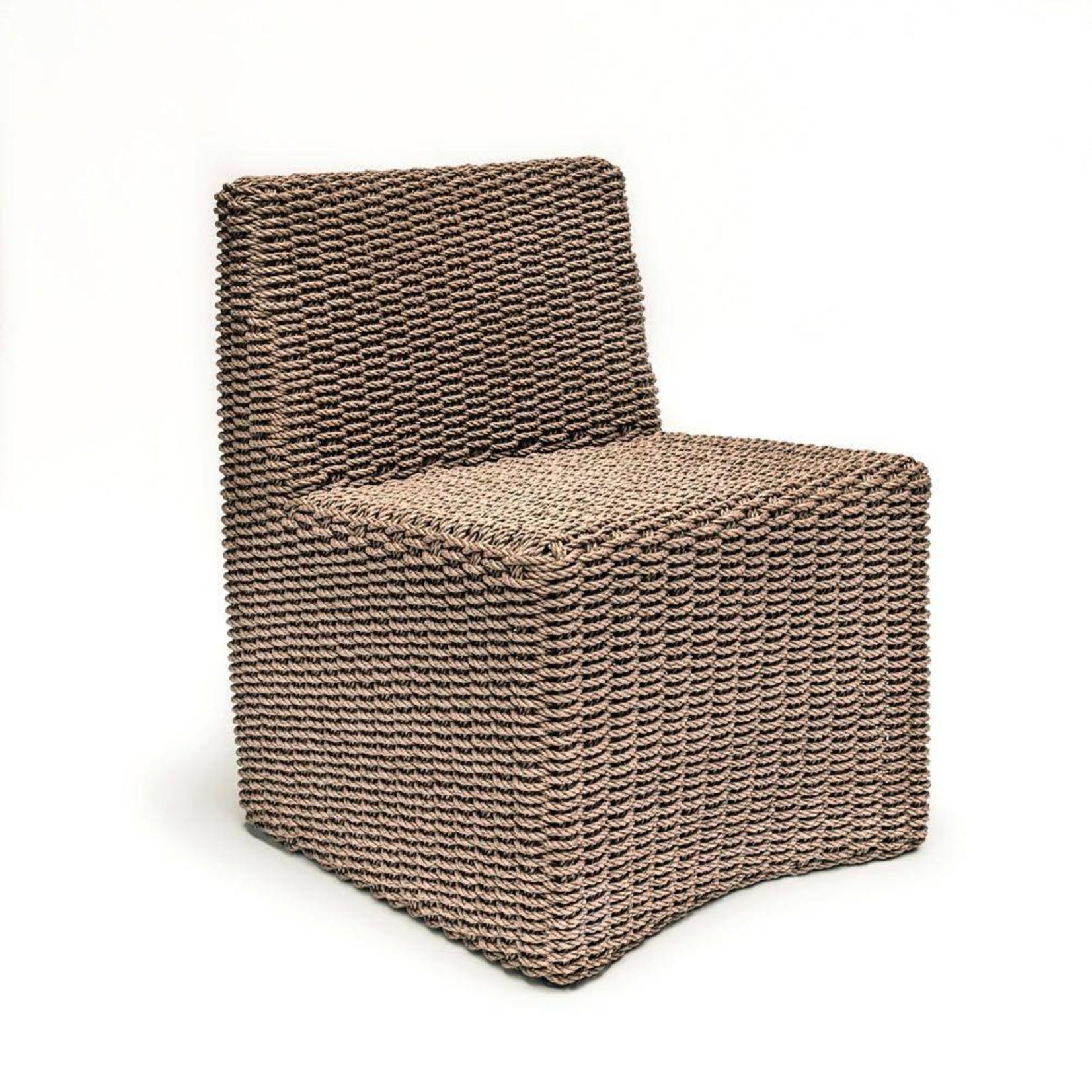 Gommaire Chair Claire   PE Wicker Natural 4 stuks incl. kussen