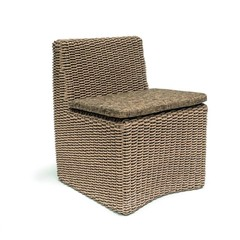 Gommaire Chair '' Claire '' PE wicker natural