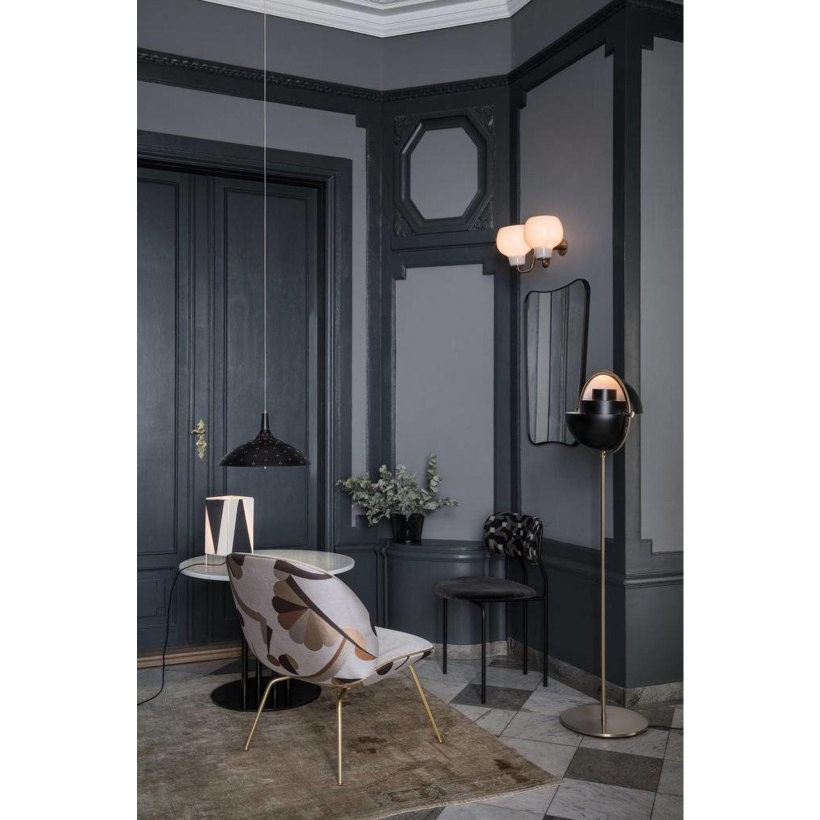 Gubi Wandspiegel F.A. 33 - 54x80 - Black Brass