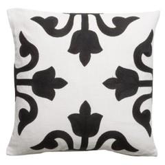 DAY Home Pillow '' Medina '' White / Black 50 x 50 cm