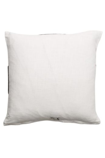 Pillow '' Medina '' White / Black 50 x 50 cm