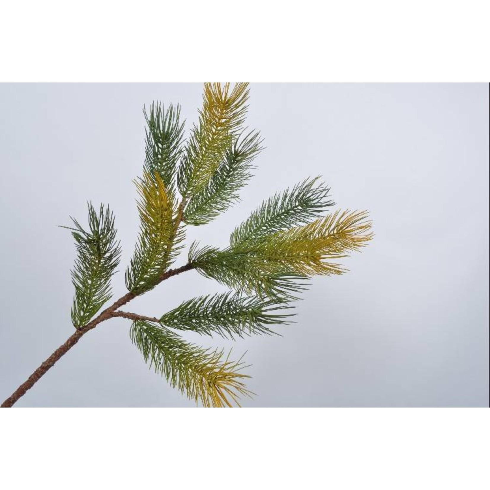 Silk-ka Branche de bois vert 95 cm