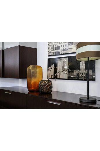 Guaxs Vase Cubistic Tall | Clair / Doré