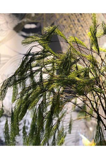 Silk-ka Bois de chauffage pin vert 131 cm