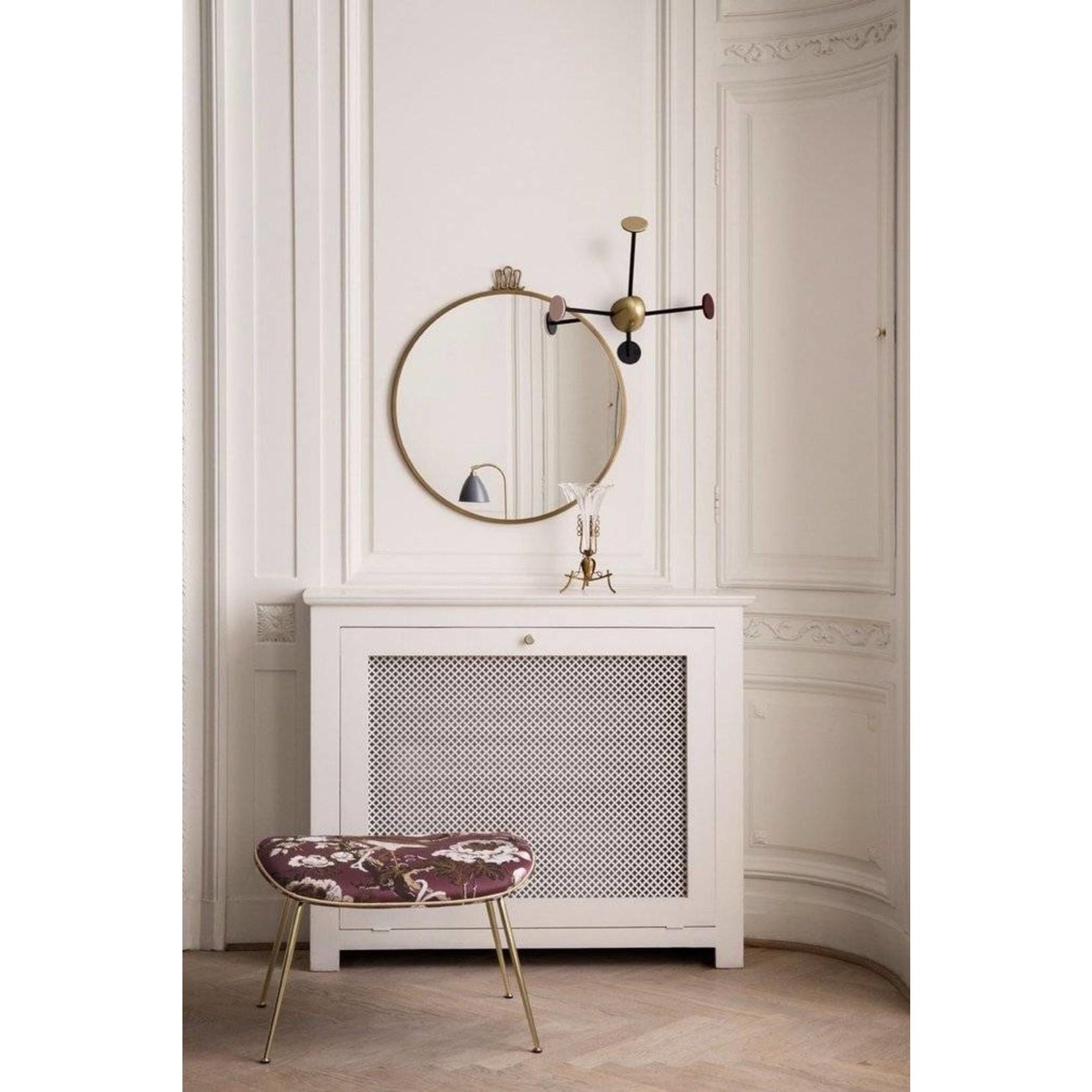 Gubi Wandspiegel Randaccio - Rond - Ø60 - Antique Brass
