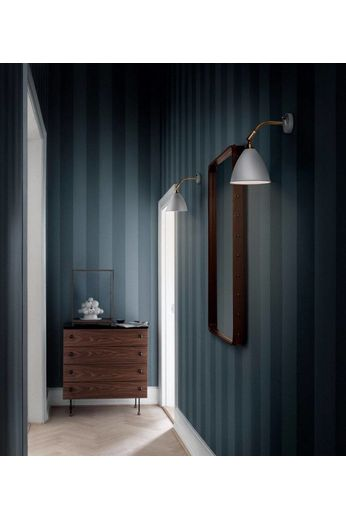 Gubi Miroir mural Adnet - Rectangulaire - 65x115 - Cuir Fauve