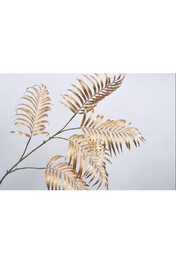 Silk-ka Leaf branch palm gold 145 cm