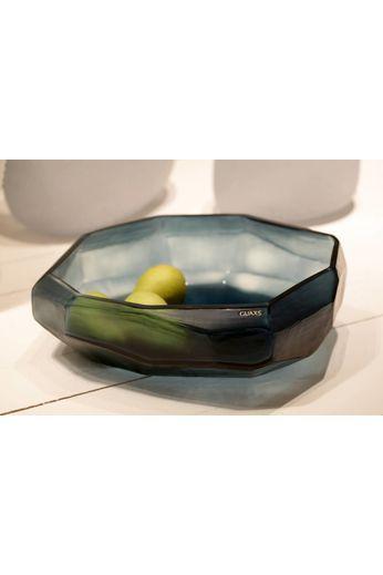 Guaxs Bowl Cubistic | Bleu océan / Indigo