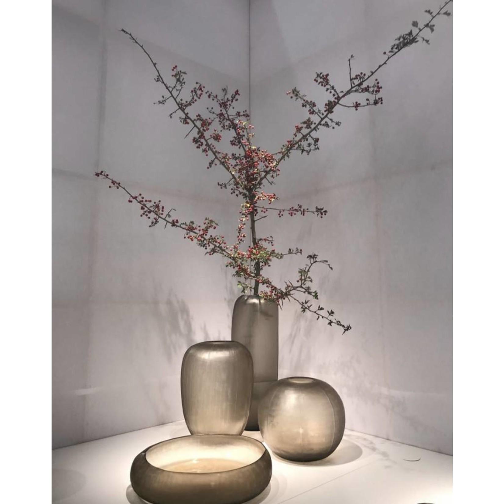 Guaxs Vase Gobi Tall   Smokegrey