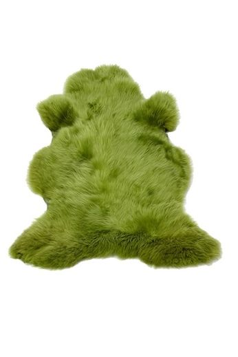Sheepskin green