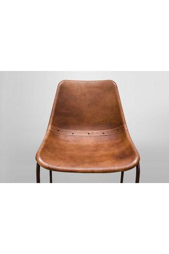 Barkruk - Vintage bruin