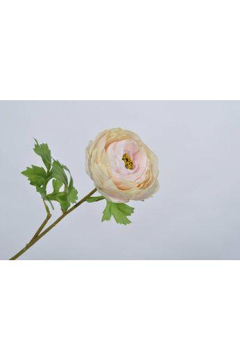 Silk-ka Tige de renoncule rose 58 cm