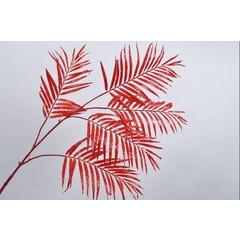 Silk-ka Bladtak palm rood 147 cm
