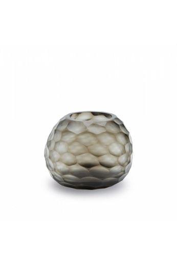 Guaxs Vase Somba S | Indigo / Smokegrey