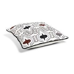 Cushion '' Iman '' Black / White 50 x 50 cm - Copy